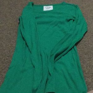 Abercrombie and Fitch green top